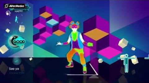 Just Dance 3 Party Rock Anthem, LMFAO feat
