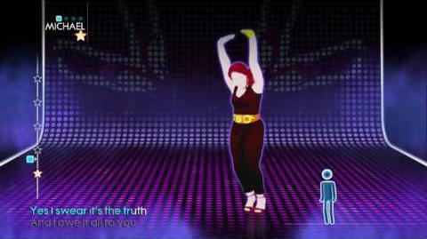 Just Dance 4 I've Had The Time Of My Life Mashup 4 stars Wii u