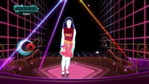 "(ジャストダンス2) JUST DANCE WII 2 Cutie Mommy ""Mickey Mouse March (Eurobeat)"""
