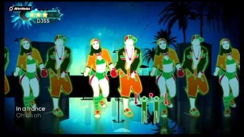 Just Dance 3 Wii Jamaican Dance, Konshens (Main dans la main)-(Non sur Xbox 360) 5*