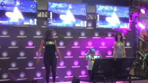 Just Dance 2015 PS4 Gameplay (cam) @ Gamestop Expo 2014