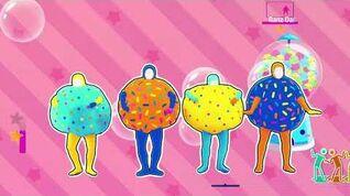 Bubble Pop! Bubblegum Version Unlimited Just Dance 2018 4k