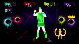 Just Dance 3 Skin To Skin