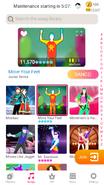 Moveyourfeet jdnow menu phone 2020