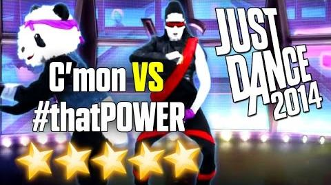 Just Dance 2014 - C'Mon VS thatPOWER - 5 stars