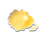 Kidsthelionsleepstonight lion golden ava