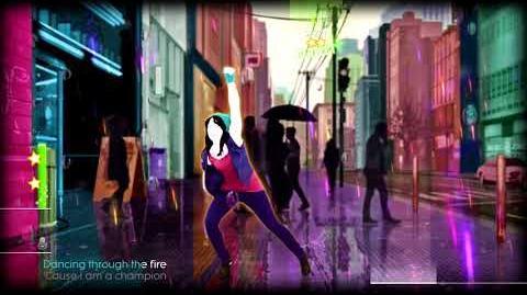 Just Dance 2014 Roar DLC 5 Stars Xbox One