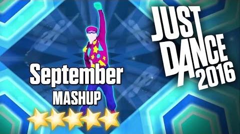 Just Dance 2016 - September (MASHUP) - 5 stars