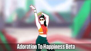 Just Dance Vitality School - Adoration To Happiness Beta Gameplay
