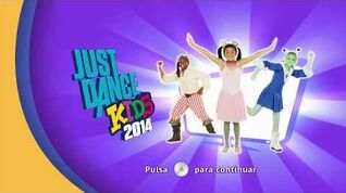 JUST DANCE KIDS 2014 Full Songlist & Menu