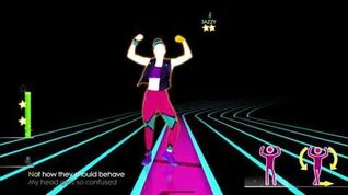 Just Dance 2014 - I Kissed a Girl (SWEAT)