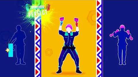 Just Dance 2018 Better Call The Handyman Double Rumble Mode 5 stars + megastar nintendo switch