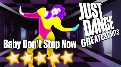 Baby Don't Stop Now - Just Dance Greatest Hits (Xbox 360 graphics)