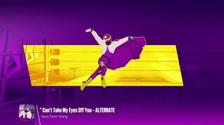 Just Dance 2018 - Can't Take My Eyes Off You - Alternate - 5 Stars M