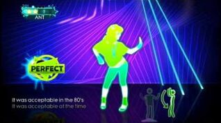 Acceptable in the 80s - Just Dance Greatest Hits (Wii)