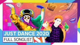 Full Song List - Just Dance 2020 (UK)