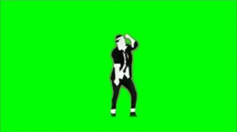 Just Dance Now - Surfin Bird Green Screen Extracton
