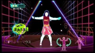 Just Dance Wii 2 Mickey Mouse March (Eurobeat) 5 stars wii on wii u