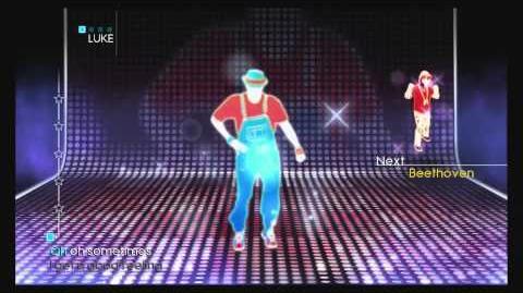 Just Dance 4 Puppet Master Mode - Good Feeling (JD1 Dancers Only)