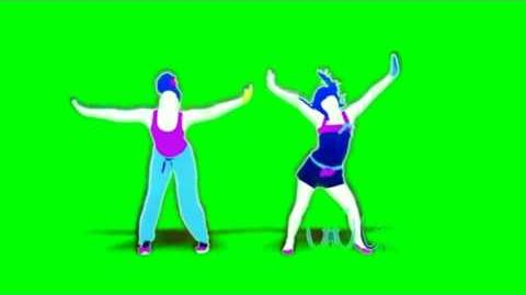Just Dance Now - Jump (For My Love) Green Screen Extraction