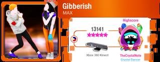 Gibberish M617Score