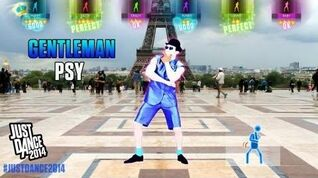 PSY - Gentlemen Just Dance 2014 Gameplay