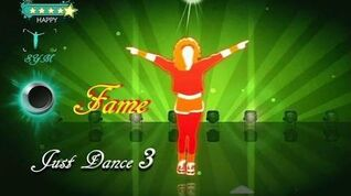 Just Dance 3 - Fame 5 Stars Full Gameplay