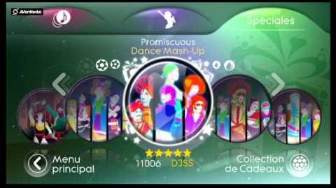 Just Dance 3 Menu Spéciales (Wii)-(PAL)