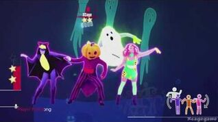 Just Dance 2017 - Ghost In The Keys - Halloween Thrills Gameplay