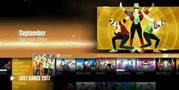 September beta menu colors