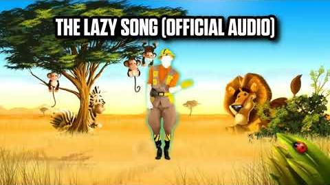 The Lazy Song (Official Audio) - Just Dance Music