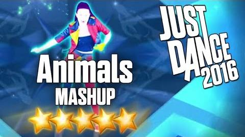 Just Dance 2016 - Animals (MASHUP) - 5 stars