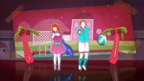 Barbie Girl - Just Dance Now (Без интерфейса)