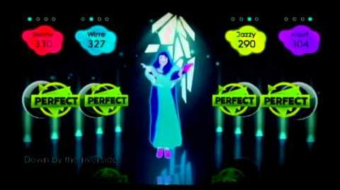 Just Dance 2 - Down By The Riverside Gameplay