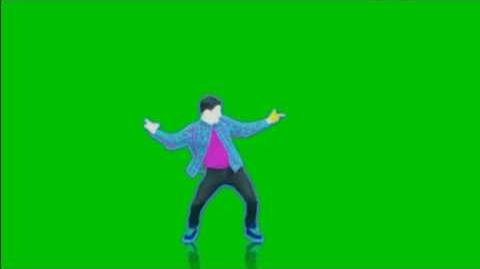 Just Dance 4 Good Feeling Extreme Green Screen Extraction