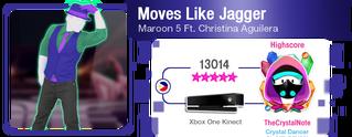 MovesLikeJagger M617Score