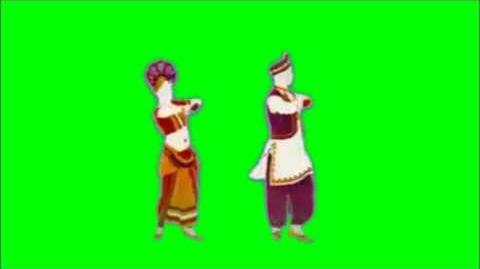 Just Dance Now - Katti Kalandal Green Screen Extraction
