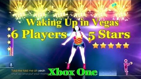 Just Dance 2014 Xbox One 6 Players - Waking Up in Vegas