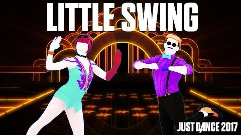 AronChupa Ft. Little Sis Nora - Little Swing Just Dance 2017 Official Gameplay preview