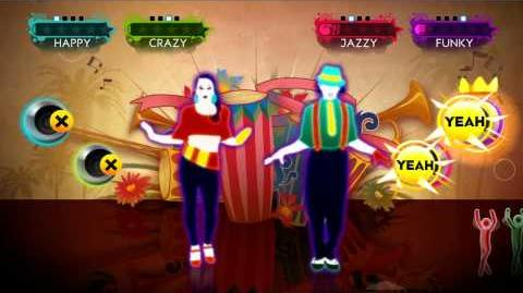 Just Dance 3 - Jambo Mambo Wii Footage UK Just Dance 3 - Jambo Mambo Wii Footage UK