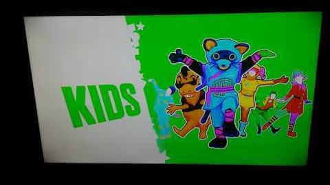 Just Dance 2019 - KIDS MENU SONG LIST