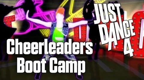 Just Dance 4 - Cheerleaders Boot Camp (Sweat) - 10 minutes
