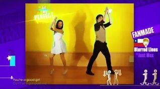 Blurred Lines (Fanmade Version) - Just Dance 2016