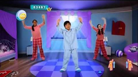 Just Dance Kids 2 Head, Shoulders, Knees & Toes Music Video Dance for children