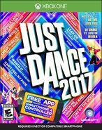 Just dance 2017 xbox one boxart