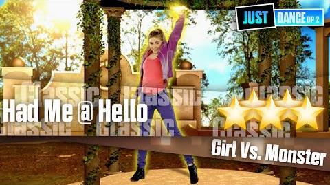 Had Me @ Hello - Girl vs