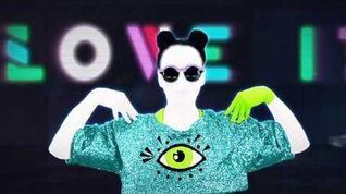Just Dance 2015 (I Love It - Icona Pop) NO HUD 1440p60fps