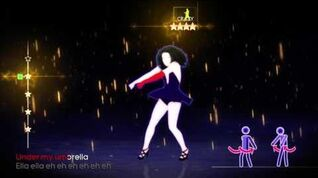 Just Dance 4 Umbrella 5 stars Xbox 360