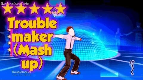 Just Dance 2014 - Troublemaker (Dance Mash-Up) - Alternative Mode Choreography - 5* Stars