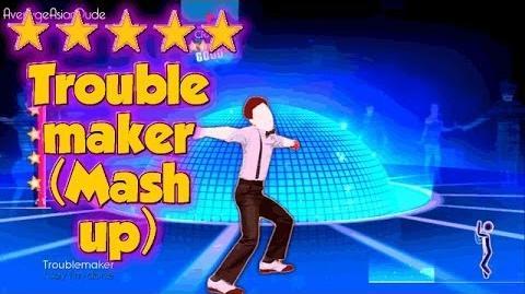 Just Dance 2014 - Troublemaker (Dance Mash-Up) - Alternative Mode Choreography - 5* Stars